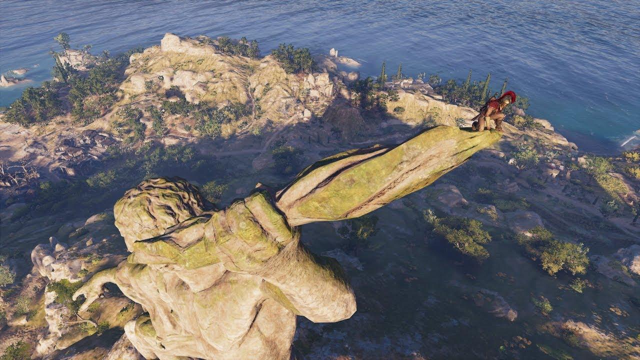 Assassins Creed Odyssey Synchronize Location Lightning