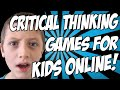 Critical Thinking Games for Kids Online