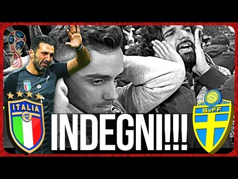 ITALIA 0-0 SVEZIA | INDEGNI!!! LIVE REACTION ITALIANI SAN SIRO HD