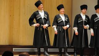 Посвящение Уастыджи. Мужской хор  Северо-Осетинского филиала Мариинского театра