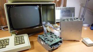 Apple Lisa 1 Twiggy Disk repair & demo