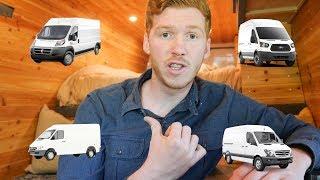 Choosing A Van to Live In: ProMaster vs Transit vs Sprinter