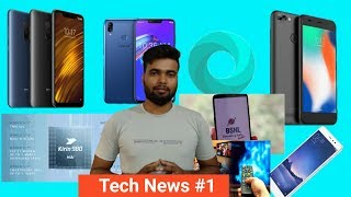 Tech News #1 -  Poco F1 price down, max pro m2 Fota update, DTH & Cable update, MI oficial browser