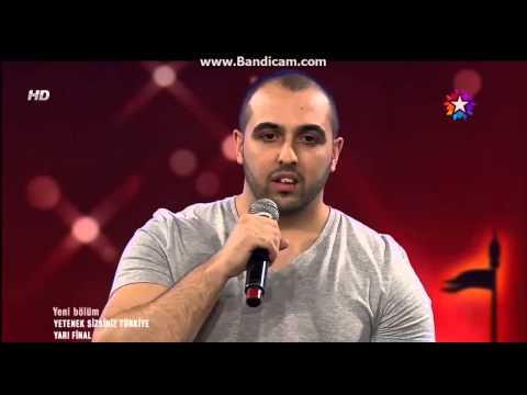 Macro pişik kelle Yetenek Sizsiniz Türkiye yarı final Macro full 16.02.2014