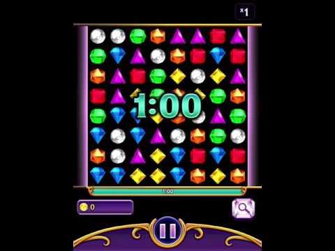 Bejeweled Blitz iPad [No Cheat] 1,255,350 No Boosts Score (Elite Technique)