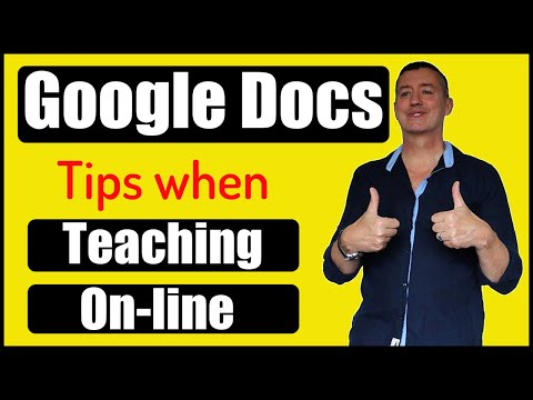 How To Use Google Docs In Education: 10 Great Tips.