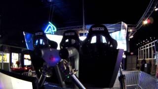 Andretti Indoor Karting & Games, Cruden Hexatech Racing Simulator