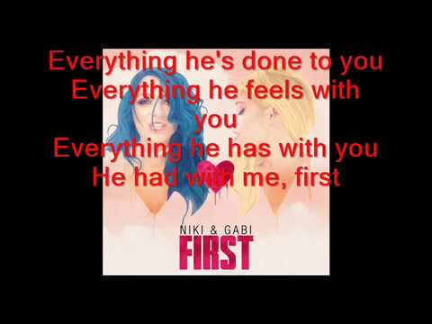 Niki & Gabi - First lyrics