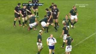 Mike McCarthy Hit On Eben Etzebeth Ireland V South Africa Autumn International HD