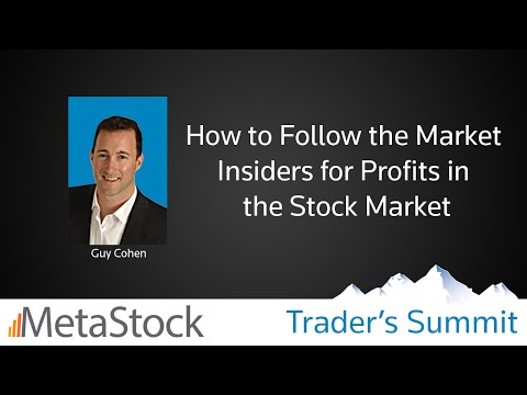 How to Follow the Market Insiders for Profits in the Stock Market - Guy Cohen