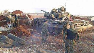 Т 90 в боях за Алеппо, Сирия