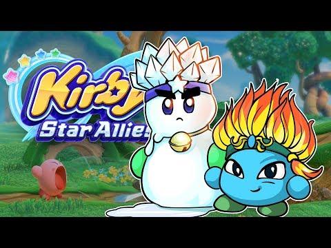 Liebling, ich habe unsere Freunde geschmolzen #14 🍥 Kirby Star Allies CO-OP