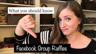 Buyer Beware! Facebook Group Raffles: Why I Don't Play!