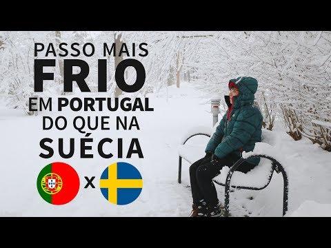 Frio em Portugal e frio na Suécia: fatos importantes!