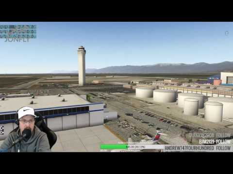 MisterX KSLC Debut Salt Lake City Beta 1 X-Plane 11