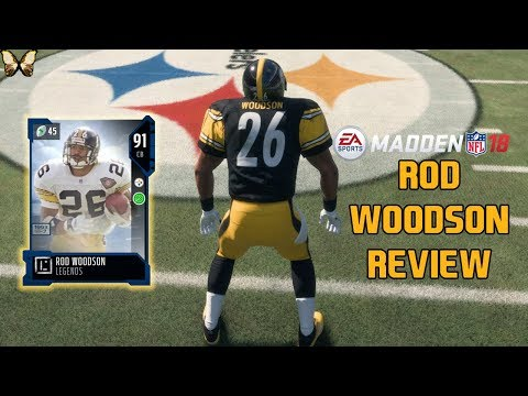 91 ROD WOODSON REVIEW | Madden 18 Player Reviews☆