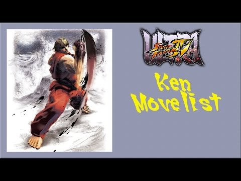 Ultra Street Fighter IV - Ken Move List