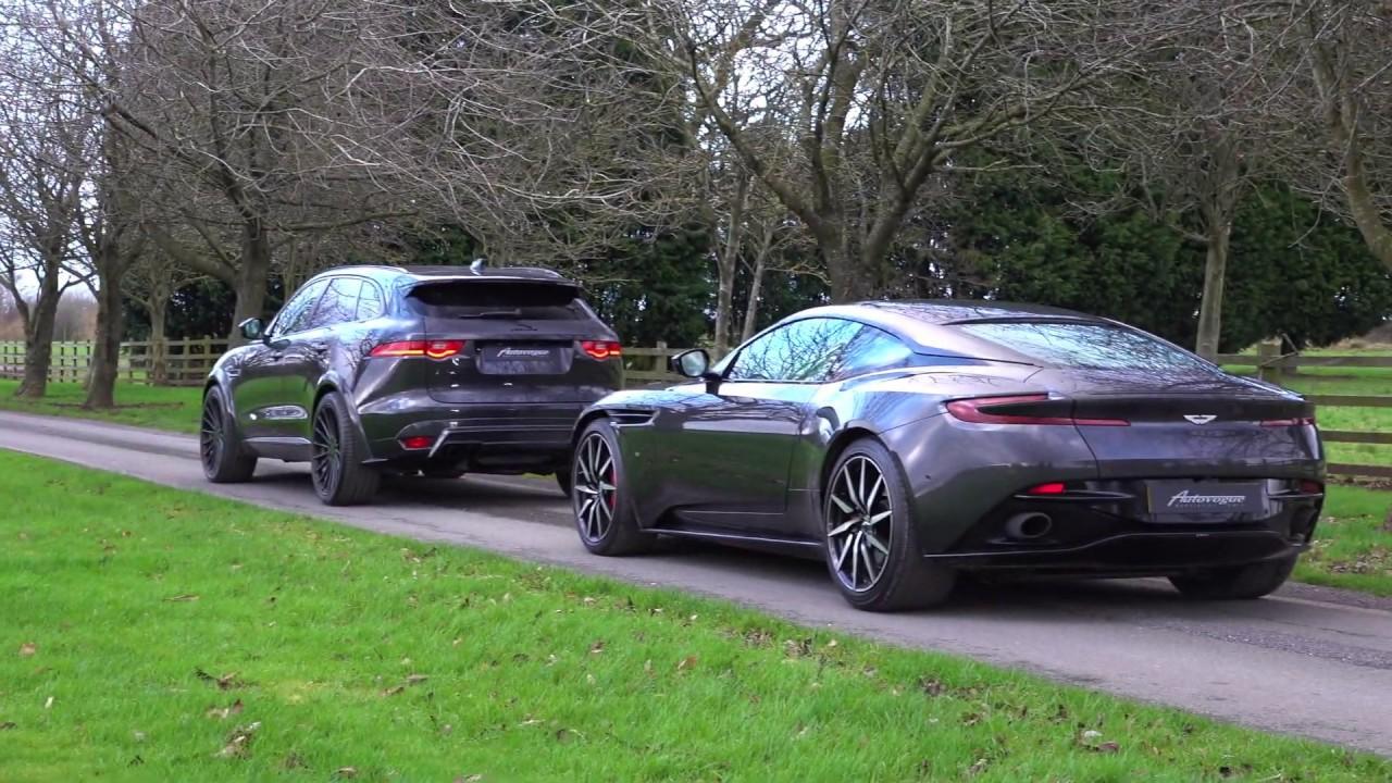 Best Of British Aston Martin Db11 And Jaguar F Pace Hamann Youtube