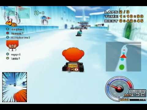 ตัวอย่างเกม KartRider ใช้ในการทำวิจัย