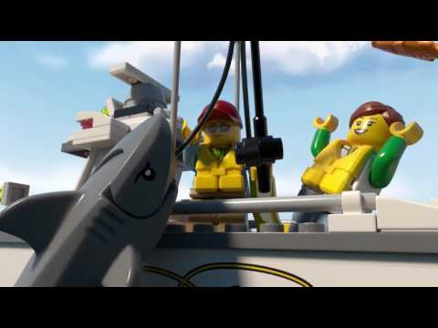 Lego 60147   FISHING BOAT   3D Product Review