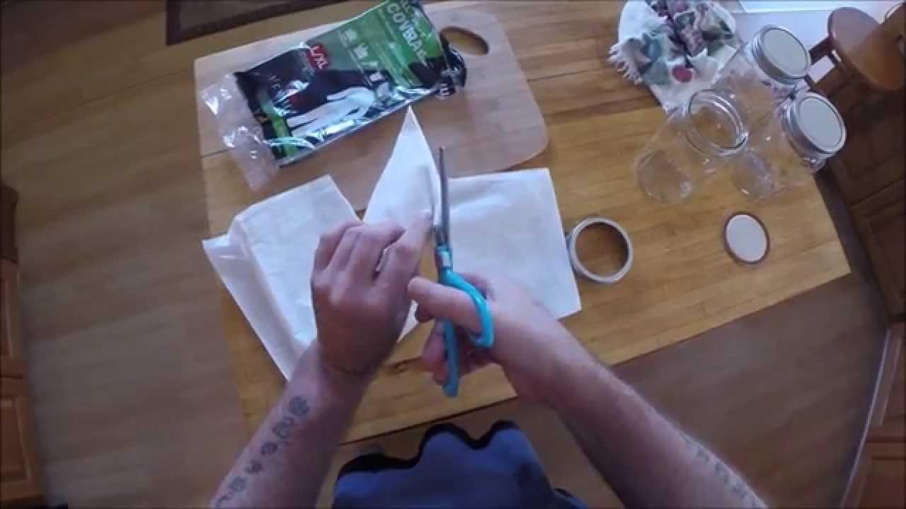 Making Mushroom Bags and Spawn Jars