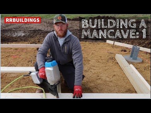 Building a Mancave: 1