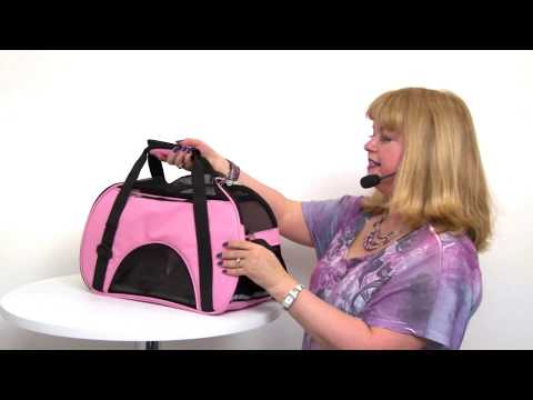 East Side Collection On the Go Pet Carrier – Pink
