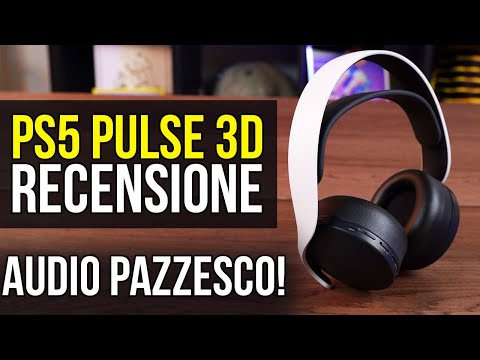 PS5 Cuffie PULSE 3D Recensione: l'audio 3D è grandioso!
