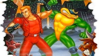 Battletoads and Double Dragon: The Ultimate Team NES No Death (Ultra HD - 4K)