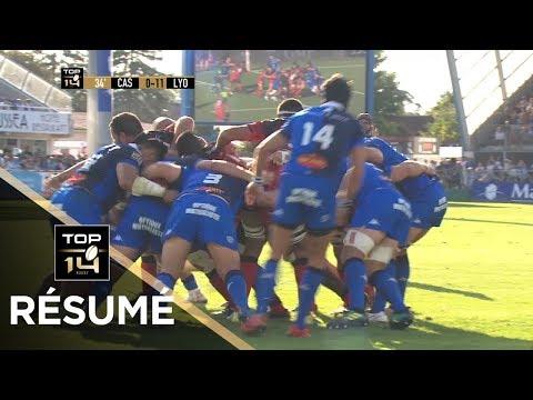 TOP 14 - Résumé Castres-Lyon: 19-16 - J2 - Saison 2018/2019
