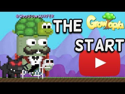 THE START | Growtopia (@ShadowSURFER)