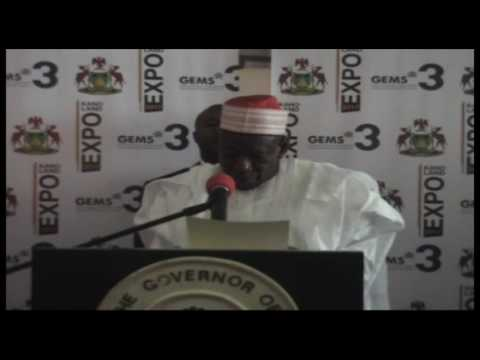 Ganduje Kano Land Expo Hausa News report