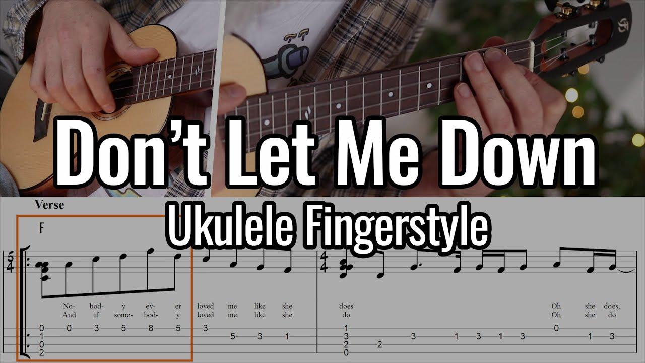 The Beatles - Don't Let Me Down (Ukulele Fingerstyle)