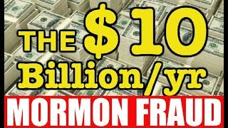 How The Lds Church Defrauds Millions Of People Around The World
