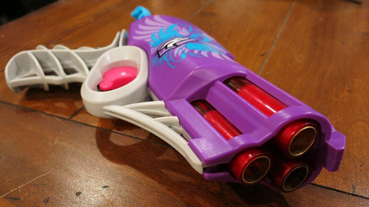 Nerf Rebelle Messenger Blaster Bälle