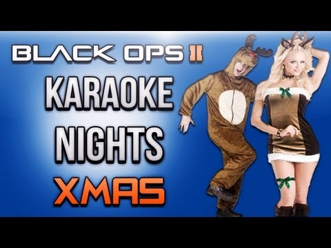 Black Ops 2 Karaoke Night Ep.1 (Xmas Edition)