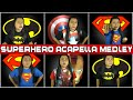 A Superhero Acapella Medley - Superman/Batman/X-Men/Iron Man/Avengers || String Player Gamer