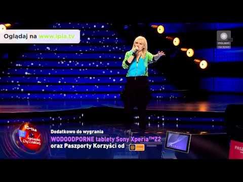 """Sopot TOPtrendy 2014: Agnieszka Chylinska - """"Kiedy powiem sobie dość"""""""