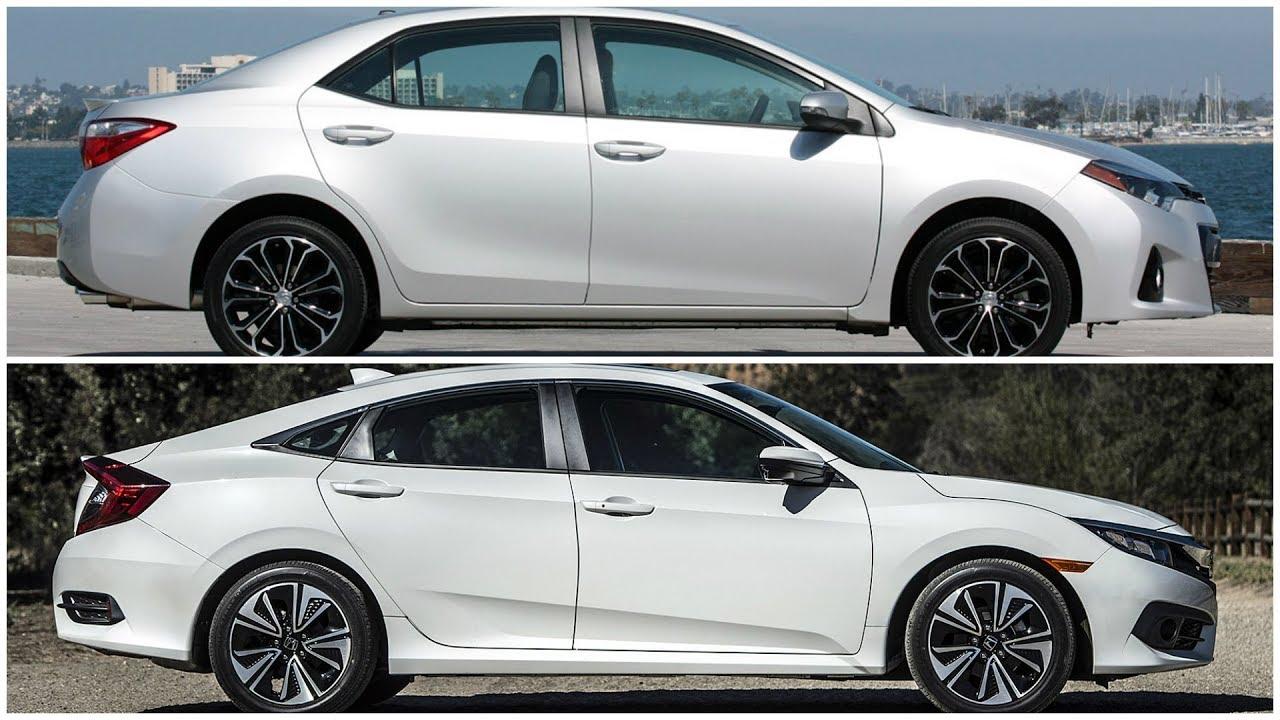 All New Corolla Altis Vs Civic Toyota Innova Venturer Honda 2017 2018 Youtube