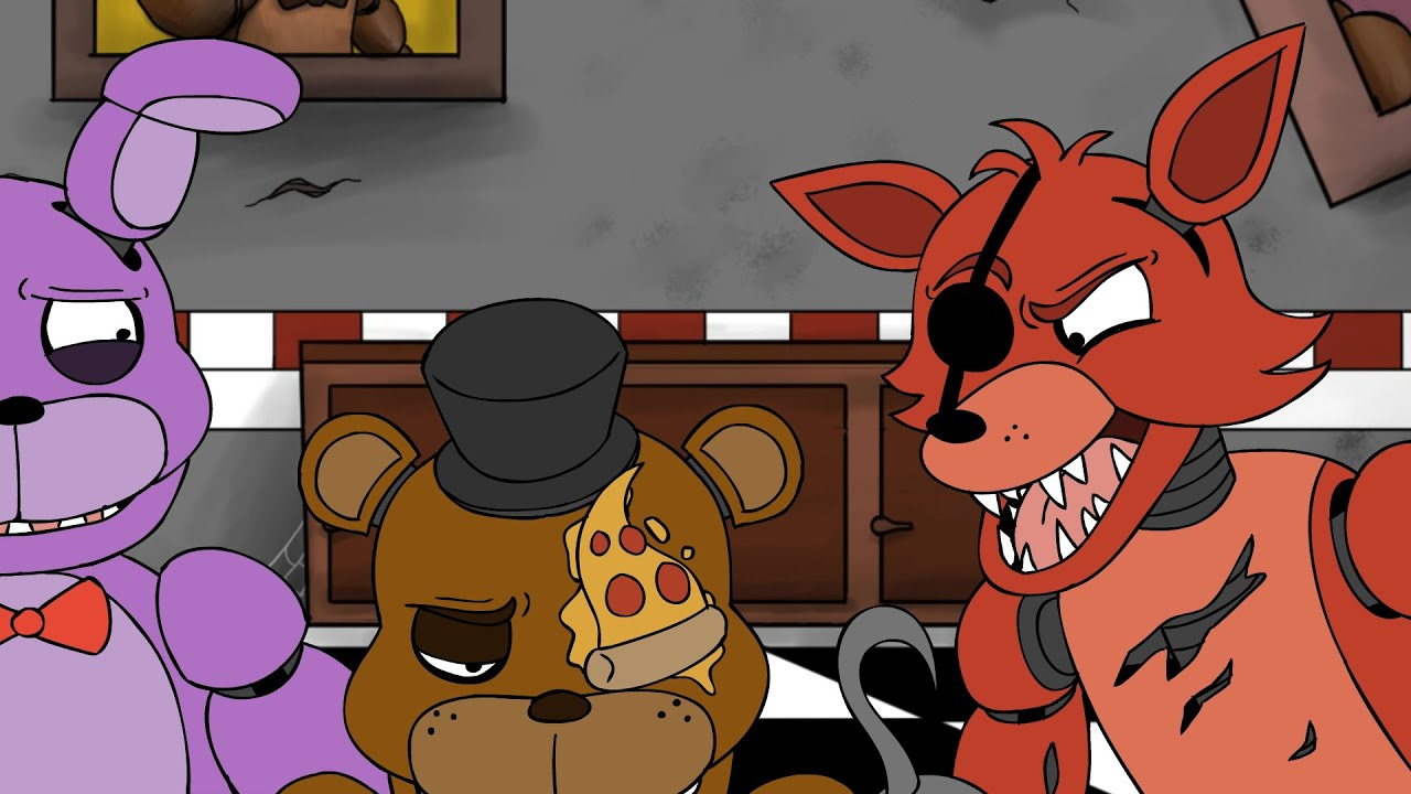 CHEESY DEATH (Five Nights at Freddy's Animation) - YouTube