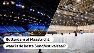Songfestival 2020: Rotterdam en Maastricht presenteren zich als laatste kanshebbers