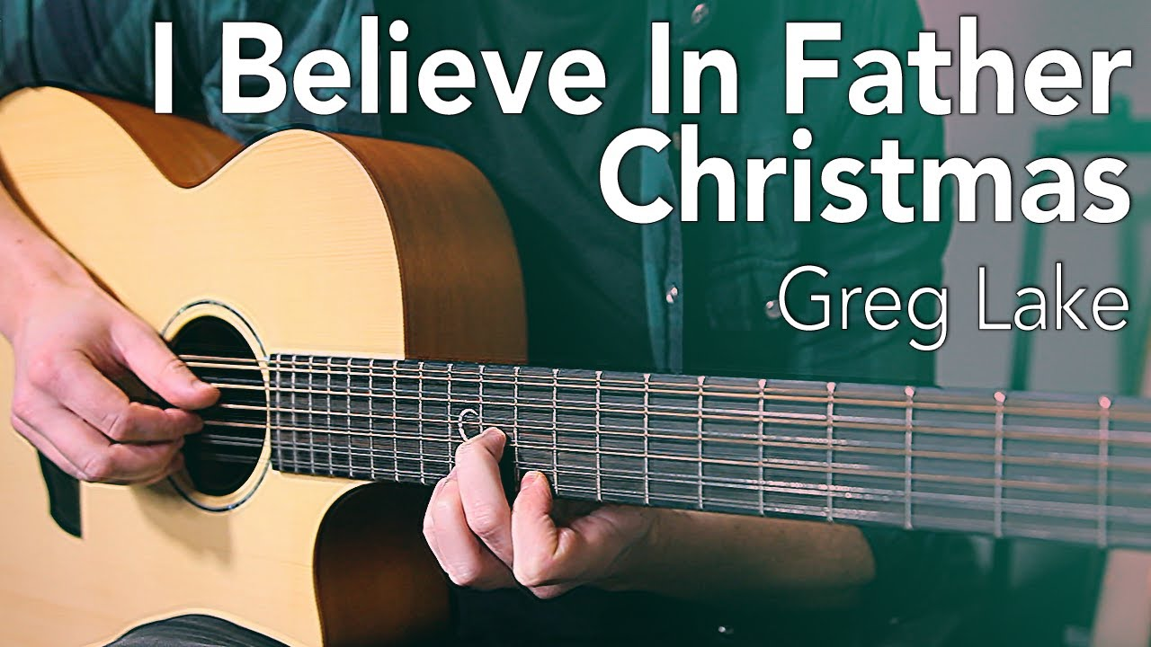 39 i believe in father christmas 39 guitar lesson greg lake my arrangement really learn guitar. Black Bedroom Furniture Sets. Home Design Ideas