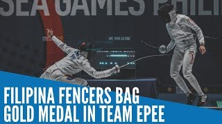 Sea Games 2019: Filipina Fencers Bag Gold Medal In Team Epee