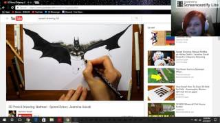 reacting to awesome speed drawings team unicorn