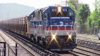 Friday Amtrak & Metro North Railfanning at Riverdale