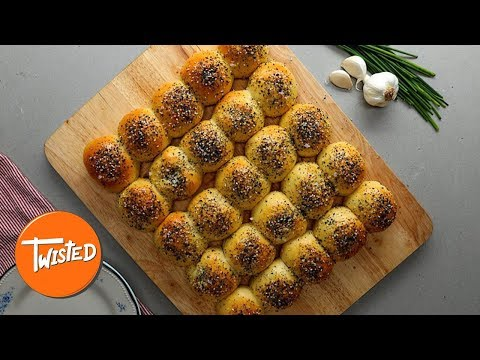 How To Make Chicken Bacon Ranch Dough Balls | Twisted