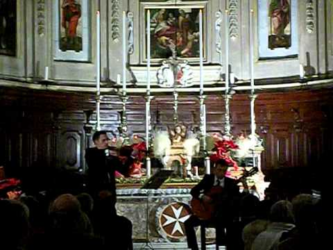 Ave Maria at Our lady of Victory Church Valletta 2011
