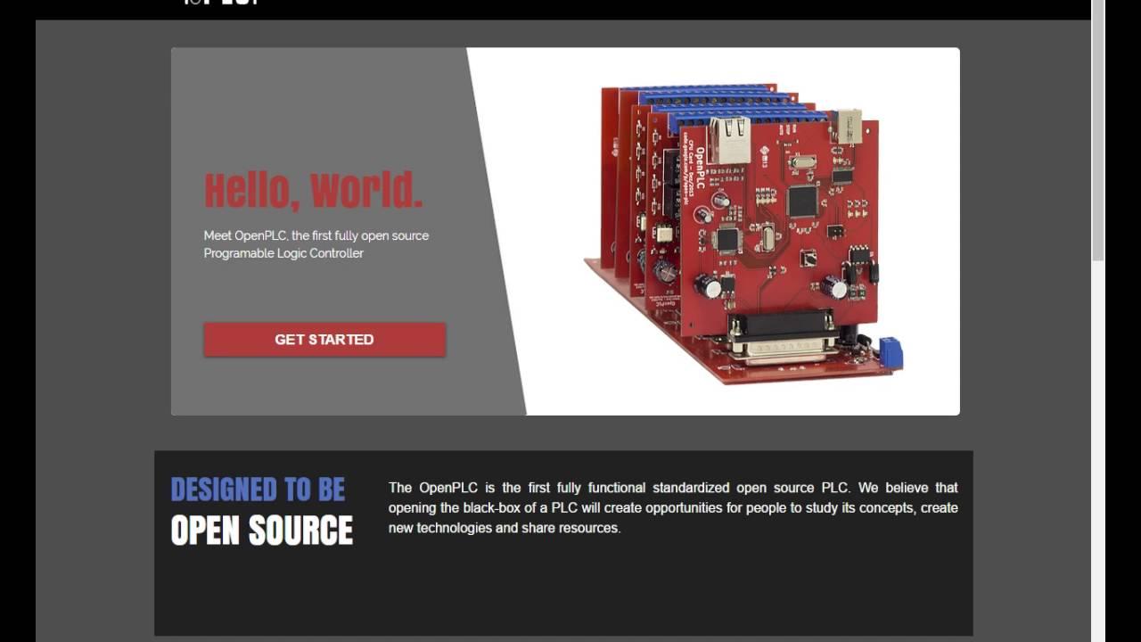 OpenPLC website