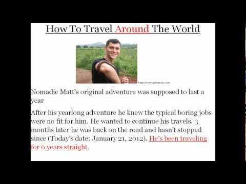 Travel Writing | Learn How To Get Paid To Write And Travel The World