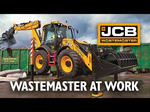 JCB WasteMaster at work